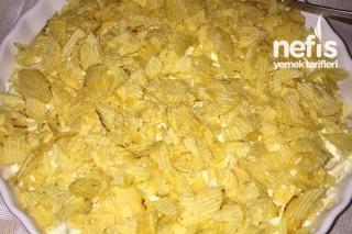 Kabaklı Havuçlu Cipsli Salata Tarifi