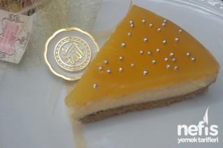 Ananas Soslu Cheesecake Tarifi