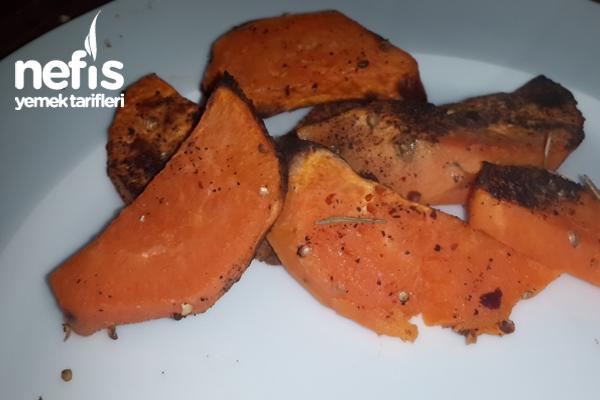 Fırında Tatlı Patates Tarifi