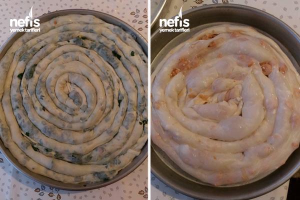 Çarşaf Böreği (Patates Ve Ispanaklı) 5
