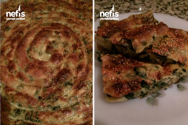 Çarşaf Böreği (Patates Ve Ispanaklı) 6