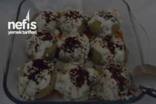 Garnitürlü Patates Topları Tarifi