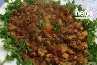 Sebzeli Mantarlı Tavuk Sote Tarifi