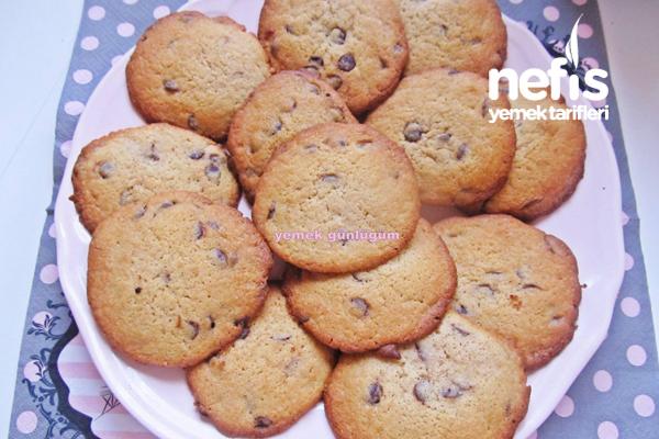 Amerikan Kurabiyesi (American Cookies) Tarifi