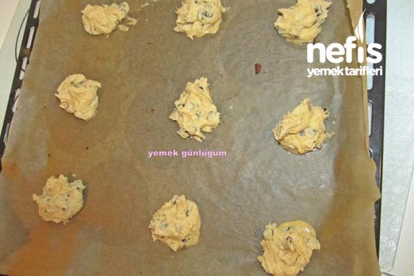 Amerikan Kurabiyesi (American Cookies) 7