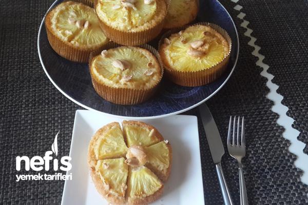 Ananaslı Bademli Mini Turtalar 5
