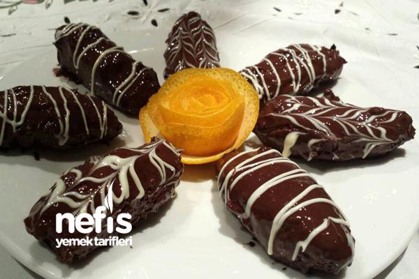 Hindistan Cevizli Ve Portakallı Çikolatalar Tarifi