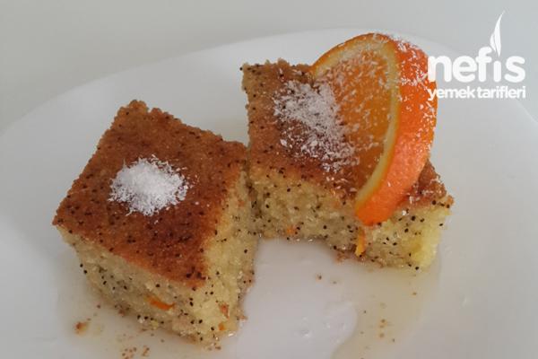 Portakallı Haşhaşlı Unsuz Revani Tarifi