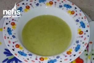 +6 Aylık Sebze Çorbası Tarifi