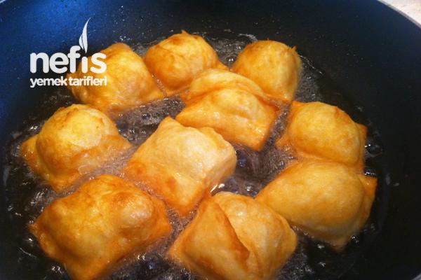 Kahvaltıya Yumurtalı Yufka Kızartması - Yufkalı Çakma Pişi :)) 9
