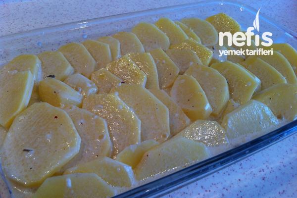 Kremalı Patates ( Et Yanına Garnitür ) 6