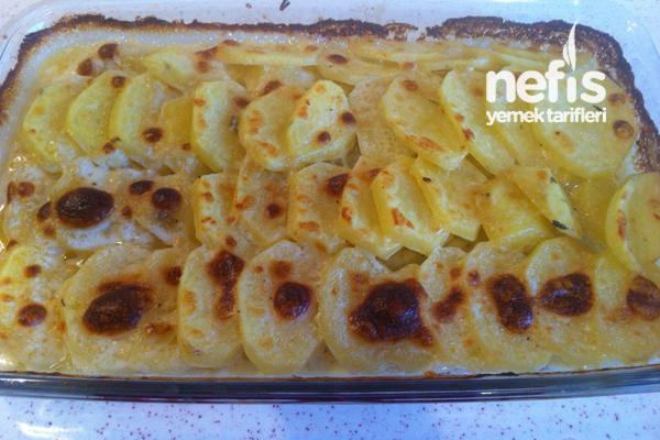 Kremalı Patates ( Et Yanına Garnitür ) 8