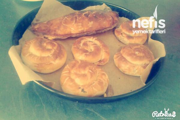 Sebzeli + Peynirli Börek 3
