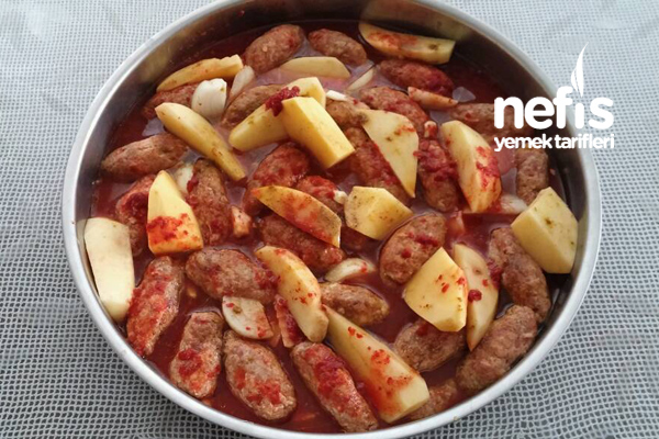 Sinide Köfte Patates 1
