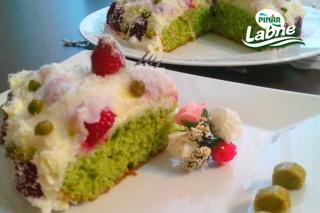 Labneli Güllaç Pasta Tarifi