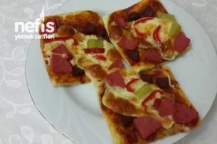 Milföy Hamurunda Kolay Pizza Tarifi