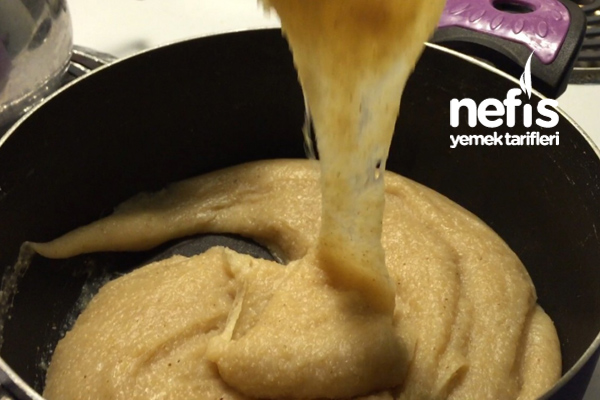 Sütlü Mozzarellalı Helva 2