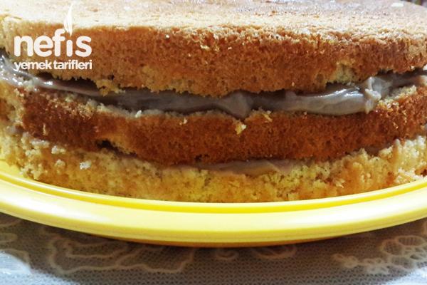 Üç Katlı Yaş Pasta 3
