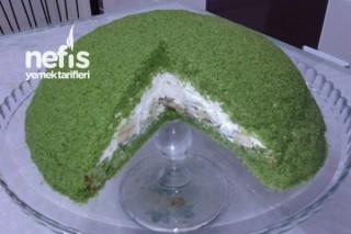 Yeşil Kubbeli Pasta Tarifi
