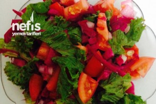 Lahana Turşulu Diyet Salata Tarifi