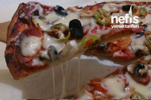 Ev Yapımı Harika Pizza Tarifi