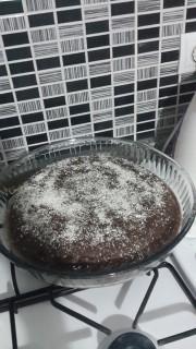 Yumuşacık bir kek oldu.