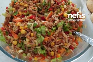 Şehriyeli Renkli Salata Tarifi