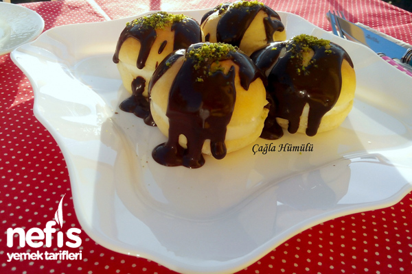 Çikolata Soslu Alman Pastası Yapımı 4