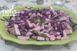 Elmalı Enfes Salata Tarifi