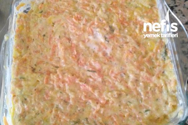 Havuçlu Kabaklı Nefis Salata