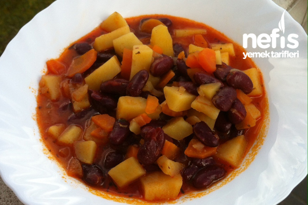 Meksika Fasulyesi Yemeği (Kırmızı Fasulye ) Tarifi
