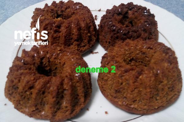 Nefis Pekmezli Kek (Şekersiz ve Diyabete Uygun) 2