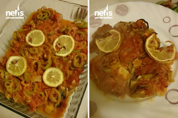 Fırında Palamut Balığı 2