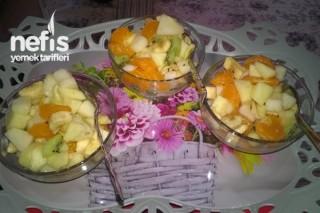 Meyve Salatası Yapımı Tarifi