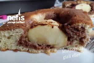 Elmalı Nutellalı Kek Tarifi