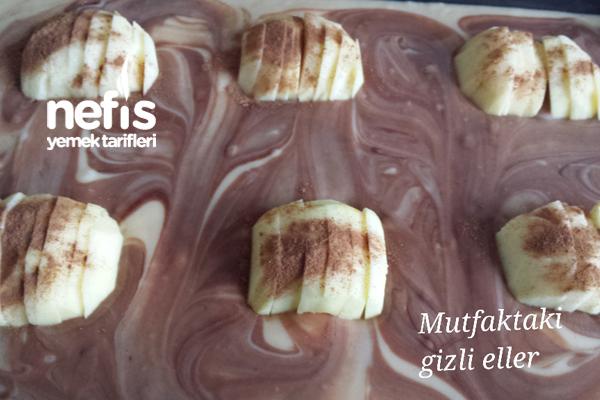 Elmalı Nutellalı Kek 4