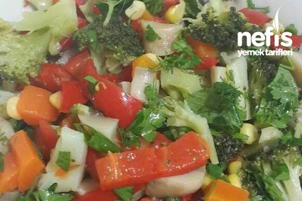 Haşlanmış Sebze Salatası Tarifi