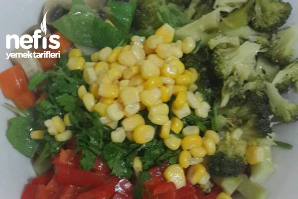 Haşlanmış Sebze Salatası 2
