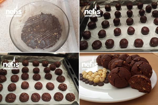 Fındıklı Damla Çikolatalı Browni Kurabiye 2