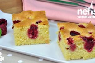 Frambuazlı Kek Nasıl Yapılır?