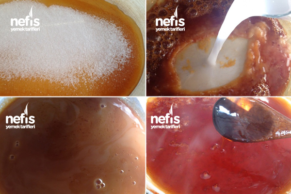 Karamel Sos Yapımı 1