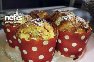 File Bademli Muffin Tarifi