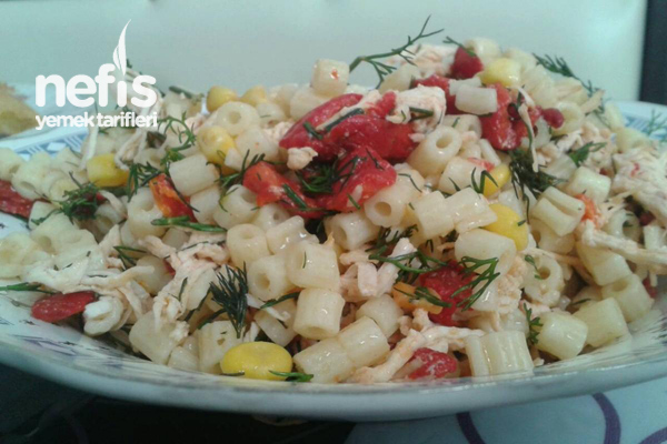 Makarna Salata Tarifi