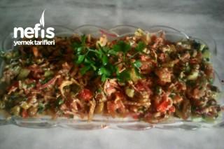 Hatayın Meşhur Çökelek Salatası Tarifi