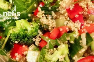 Quinoa İle Diyet Salata Tarifi
