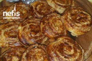 Tarçınlı Tahinli Çörek Tarifi