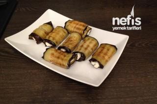 Krem Peynirli Patlıcan Rulo Tarifi