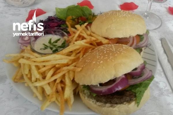 Hamburger Ekmeği Ve Hamburger Sosu Tarifi