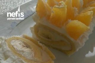 Meyveli Rulo Pasta Tarifi