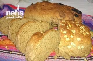 7 Tahıllı Un İle Ekmek Yapımı Tarifi